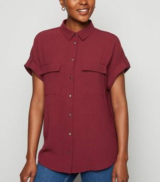 New Look Double Pocket Utility Shirt
