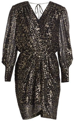 Derek Lam 10 Crosby Freya Confetti Lurex Clip Dress
