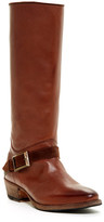 Blackstone Buckle Strap Tall Leather Boot
