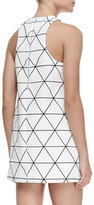 Cameo From Time Printed Racerback Dress