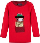 Andy & Evan Gift Tee (Toddler/Kid) - Red-4T