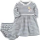 Carter's Baby Girl Striped Knit Dress
