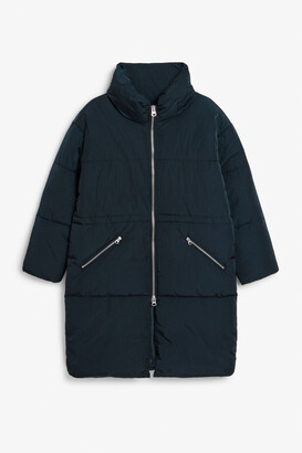 Monki High-neck puffer coat