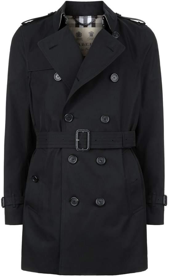 Burberry Kensington Mid-Length Heritage Trench Coat