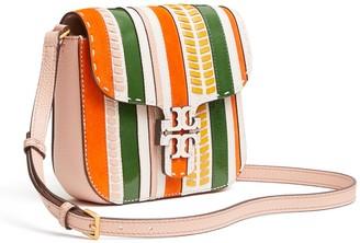 Tory Burch Mcgraw Stripe Patterned Crossbody Bag