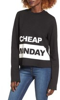 Cheap Monday Women's Coach Graphic Sweatshirt