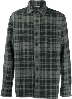 Destin Plaid Check Flannel Shirt
