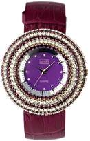 Eton Women's Quartz Watch with Dial Analogue Display and Leather Strap 2980J-PL