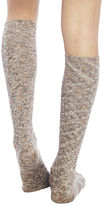 Wet Seal Marled Knit Knee-High Socks