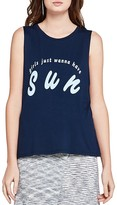 BCBGeneration Girls Just Wanna Have Sun Muscle Tank