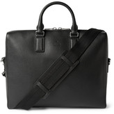 Gucci Black Grained-Leather Briefcase