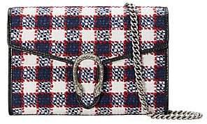 Gucci Women's Vintage Tweed Dionysus Crossbody Bag