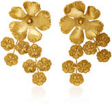 Jennifer Behr Jasmine Gold-Plated Earrings