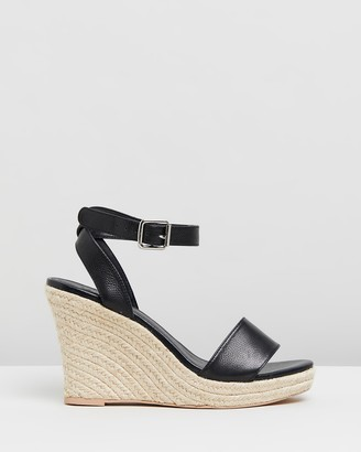 Atmos & Here Jane Leather Wedges