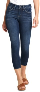 Silver Jeans Co. Avery Skinny Cropped Jeans