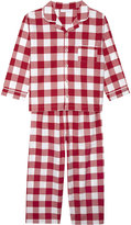 The Little White Company Gingham Cotton Pyjamas 1-6 Years