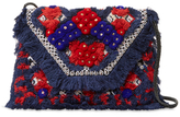 Antik Batik Sunny Embroidered Cotton Convertible Clutch