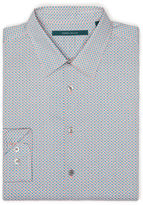 Perry Ellis Non-Iron Mini Paisley Print Shirt