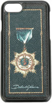 Dolce & Gabbana military iPhone 7 case - men - Calf Leather/plastic - One Size