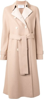 Harris Wharf London Pressed Wool Trench Coat
