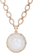 Irene Neuwirth Women's Rainbow Moonstone & White Diamond Pendant Necklace