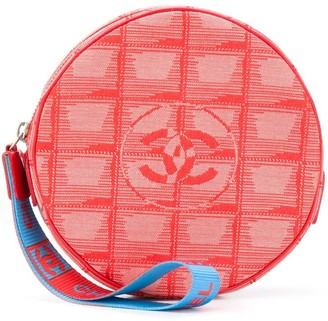 Chanel Pre Owned 2000s CC round clutch bag