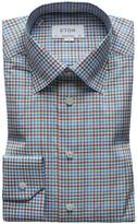 Eton Men's Multi-Check Cotton Dress Shirt