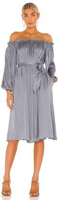 LPA Off Shoulder Lounge Dress