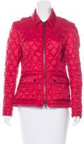 Burberry Quilted Zip Jacket
