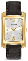 Bulova Modern Rectangle Watch, 31mm