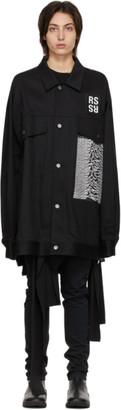 Raf Simons Black Joy Division Edition Denim Oversized Jacket