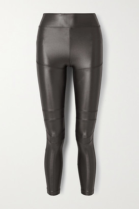Koral Moto Infinity Stretch Leggings - Charcoal