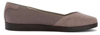Me Too Womens Bridget12 Closed Toe Ballet Flats, Storm, Size 6.5.