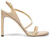 Stuart Weitzman Sensual Patent-leather Sandals - IT37