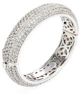 Rina Limor Fine Jewelry Silver & White Topaz Bangle Bracelet