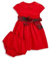 Ralph Lauren Baby's Two-Piece Corduroy Fit-&-Flare Dress & Bloomers Set