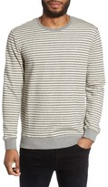 Slate & Stone Men's Stripe Crewneck Sweatshirt