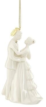 Lenox 2019 Bride and Groom Ornament