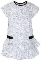 Ikks Floral Print Cap Sleeve Dress