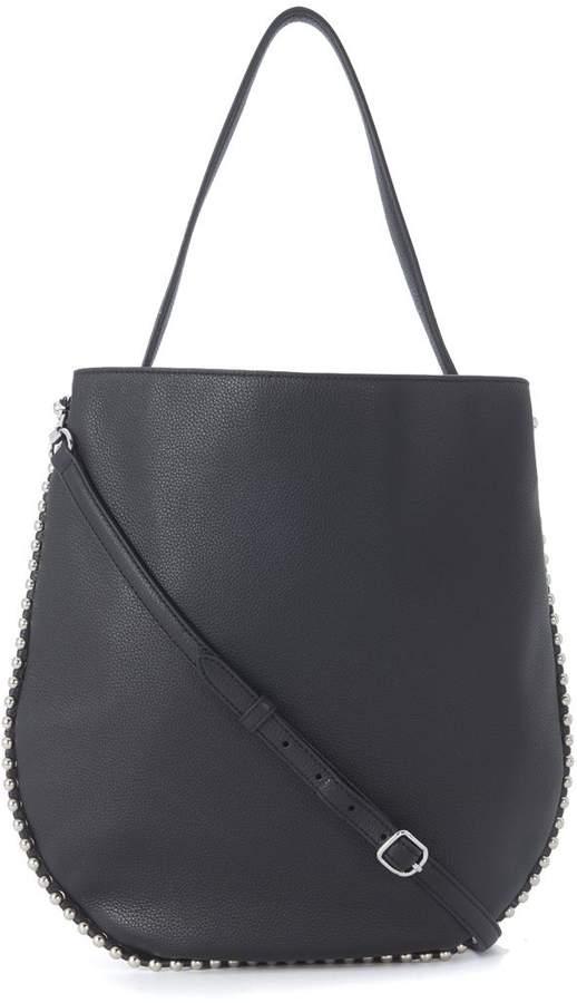 Alexander Wang Roxy Hobo Black Leather Shoulder Bag
