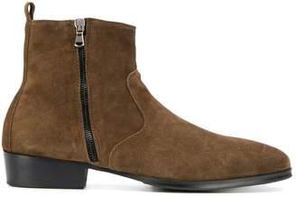 LeQarant side zip fastening boots