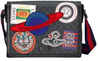 Gucci Night Courrier GG Supreme flap messenger