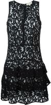 MICHAEL Michael Kors tiered lace dress - women - Cotton/Nylon/Polyester/Viscose - 4