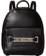 Love Moschino Letter Plate Mini Backpack