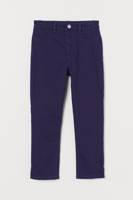 H&M 3/4-Length Twill Trousers