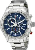 Nautica Men's NAD18503G NST 30 Analog Display Quartz Watch