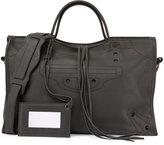 Balenciaga Blackout City Small Shoulder Bag