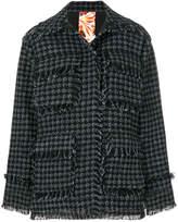 MSGM bouclé jacket