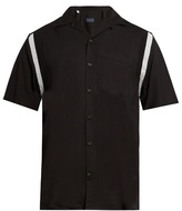 Lanvin Short-sleeved twill shirt