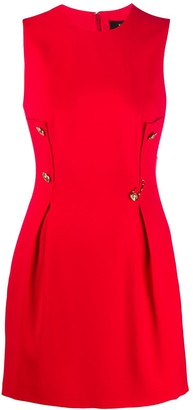 Versace Buttoned Safety-Pin Dress